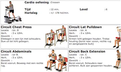 Klikschema Voorbeeld Training Schema